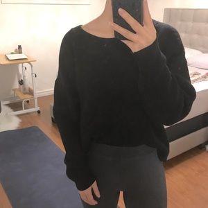 ❄️ ZARA Knit Sweater Black